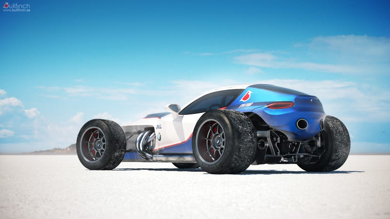 Retro F1-inspired BMW concept is android James Garner's new ride