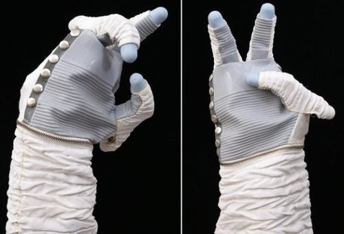 Somebody Buy This NASA Robot Hand Complete With Space Gloves
