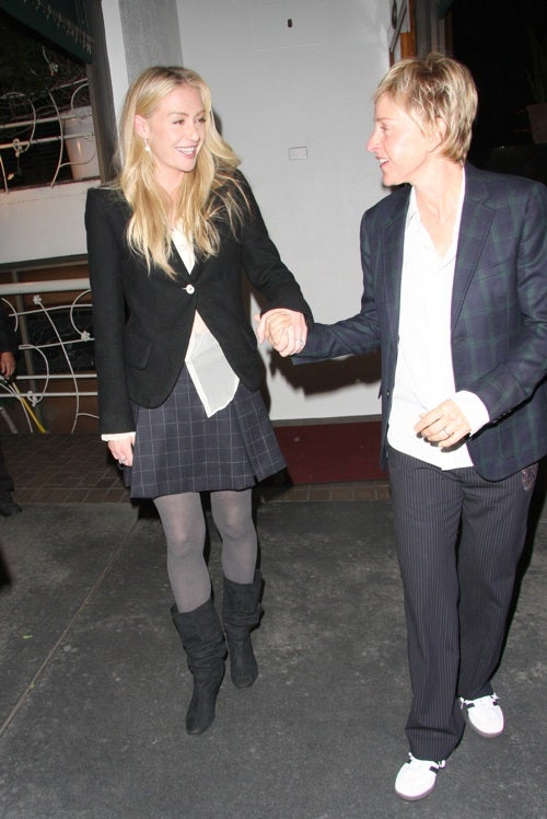 Ellen And Portia: So Happy Together