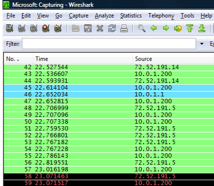Wireshark 1.2 Includes 64-Bit Support, Mapping Integration