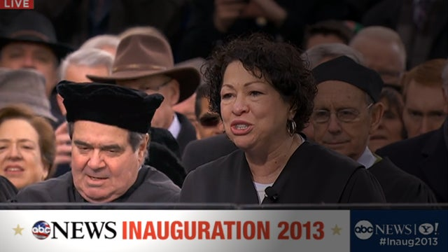 Scalia in a Really Weird Hat, and Senator Claire McCaskill Is Creep-Shotting It