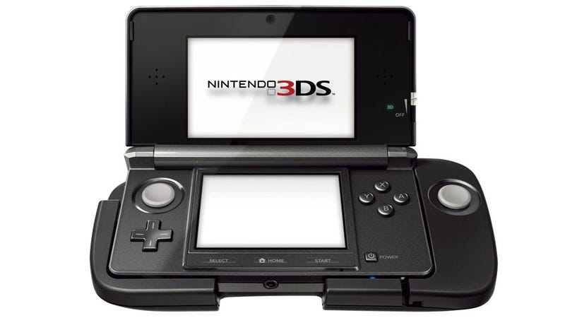 Nintendo's Ugly 3DS Circle Pad Add-on Priced and Dated
