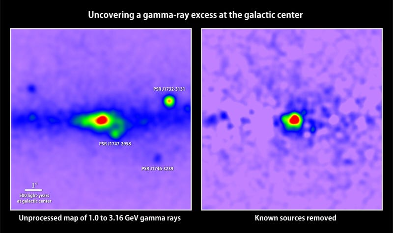 A Pulse From Space Hints At Dark Matter Massed At Our Galaxy's Center
