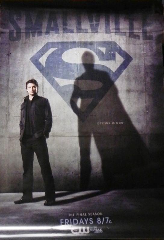 Smallville Poster w/cape shadow