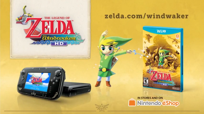 Looks Like We're Getting A Zelda-Themed Wii U (And It's Pretty Slick)