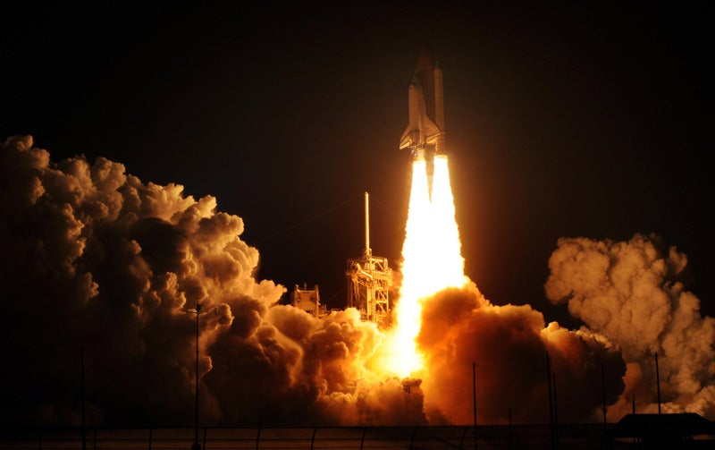 The Shuttle Blasts Off On One of Its Final Missions
