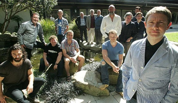 First picture of The Hobbit cast