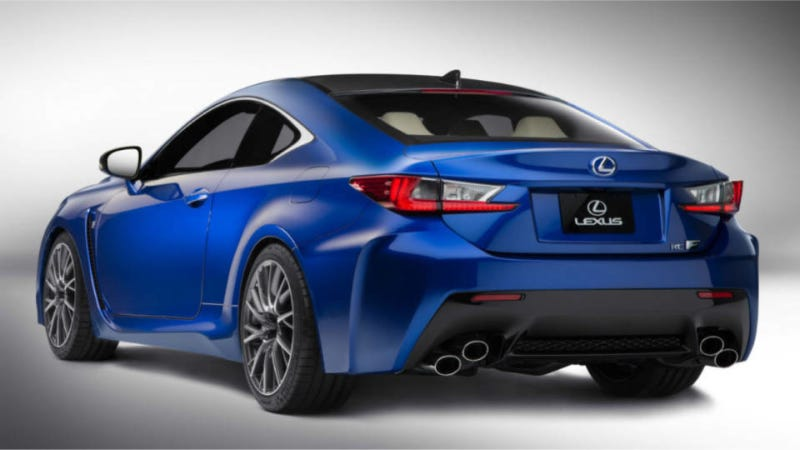 2015 Lexus RC F: This Is It