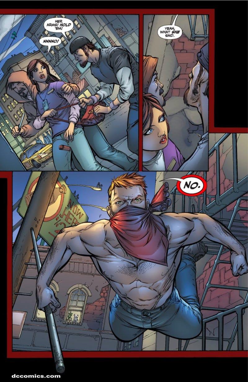 Teen Sidekicks Gone Wild In Titans