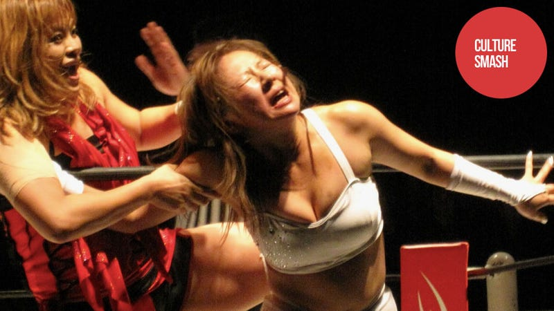 From Bikini Idol to Bloody Wrestler