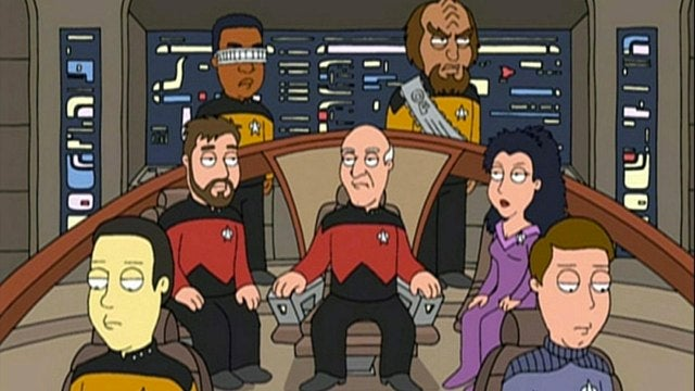 Seth MacFarlane wants to make a Star Trek TV show