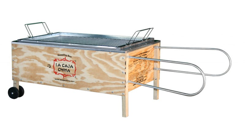 Feed a Small Village With This 100-Pound Pig Roaster