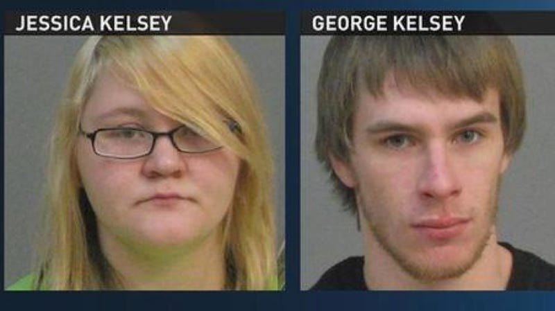 Terrible Teenage Parents Arrested for Making Their Toddler Smoke Weed