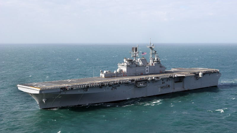 The USS Makin Island Is a Mean, Green, Amphibious Assault Machine