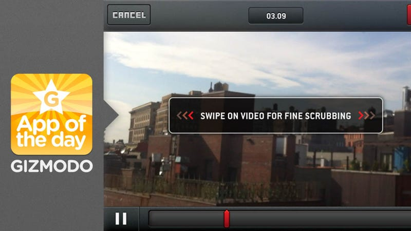 SloPro: Shoot and Edit Slow Motion Videos on Your iPhone 4S