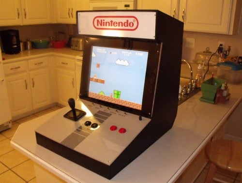 Build a Nintendo Arcade to Get Your Old-School Game On