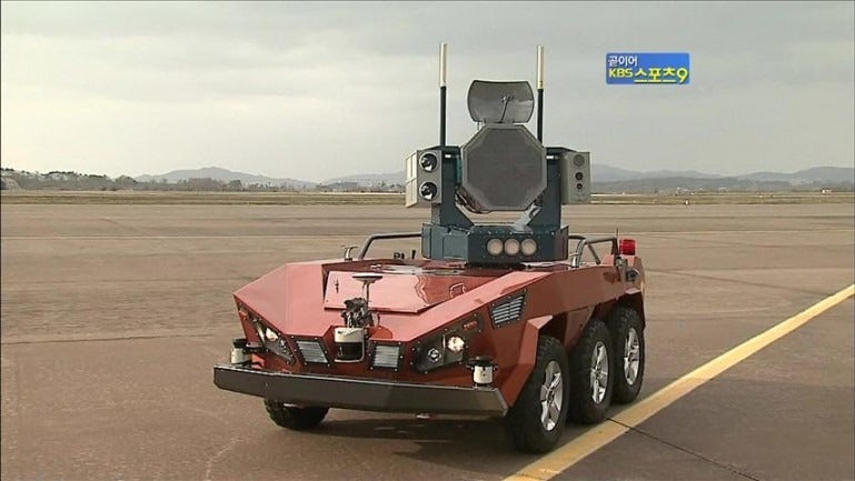 Scarecrow Laser Tanks are As Awesome As They Are Overkill