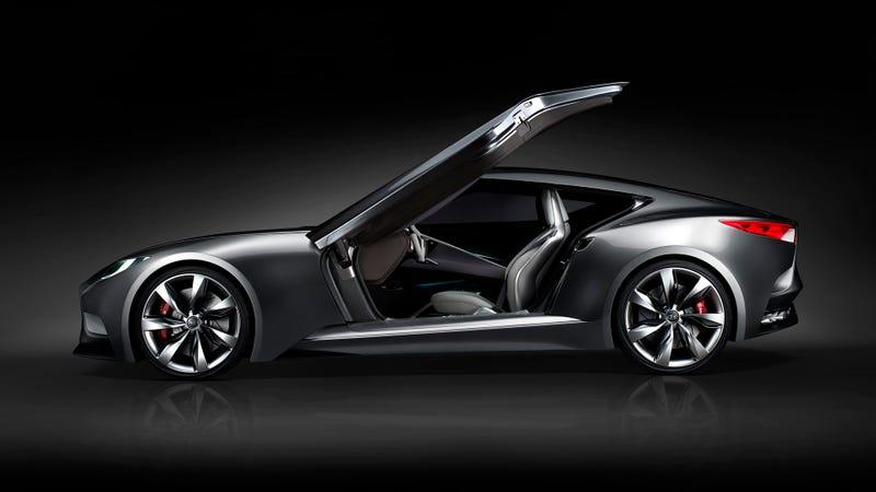 The Hyundai HND-9 Concept Is A Sexy Korean GT