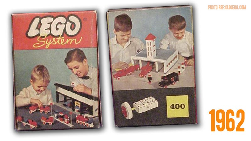50 Years Ago, Lego Invented The Wheel