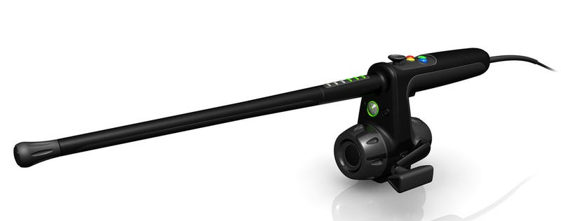 Finally, A Realistic Fishing Pole Controller For the Xbox 360