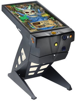 Virtual Pinball Machine Alters Arcade Gaming Lore