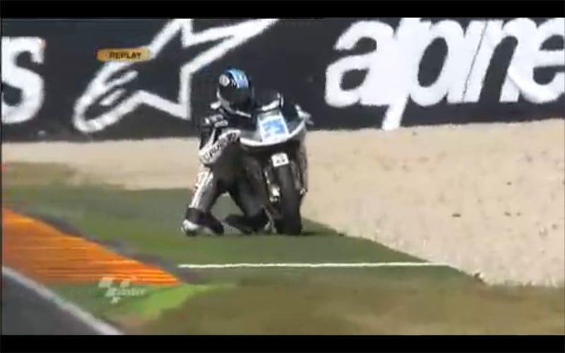 Raffaele De Rosa's Epic MotoGP Save