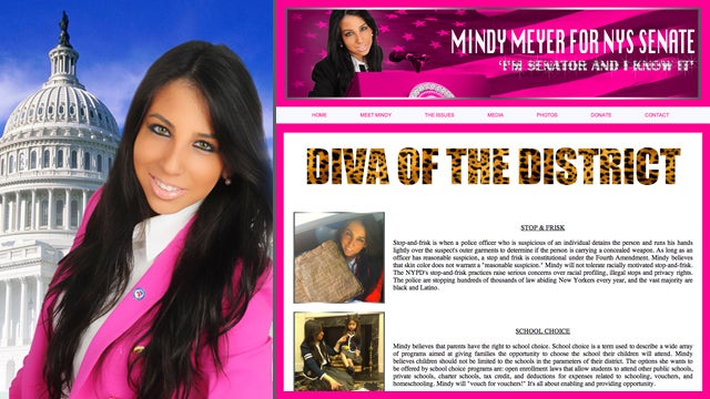 Okay, Fess Up, Which One of You Jokers Voted for Pink Diva Candidate Mindy Meyer?