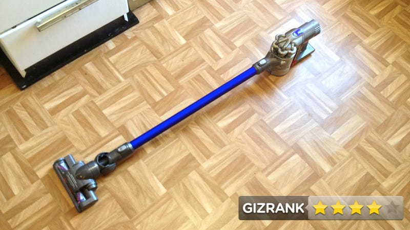 Dyson DC44 Animal Vacuum Review: Small, Sure, But It's All About How You Use It