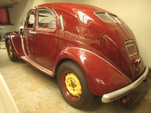 Restoring a '37 Lancia Aprilia: How Hard Could It Be?