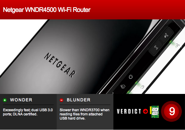 Netgear WNDR4500 Wi-Fi Router Review: Simply the Best