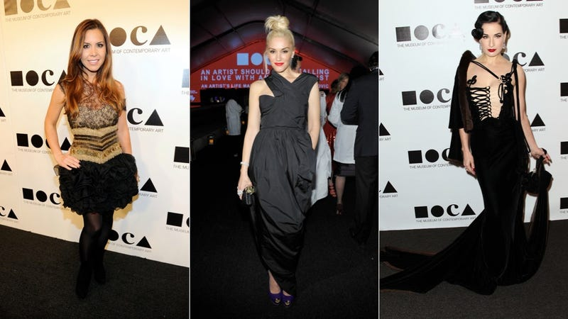 Wherein Celebrities Try To Dress 'Artsy'