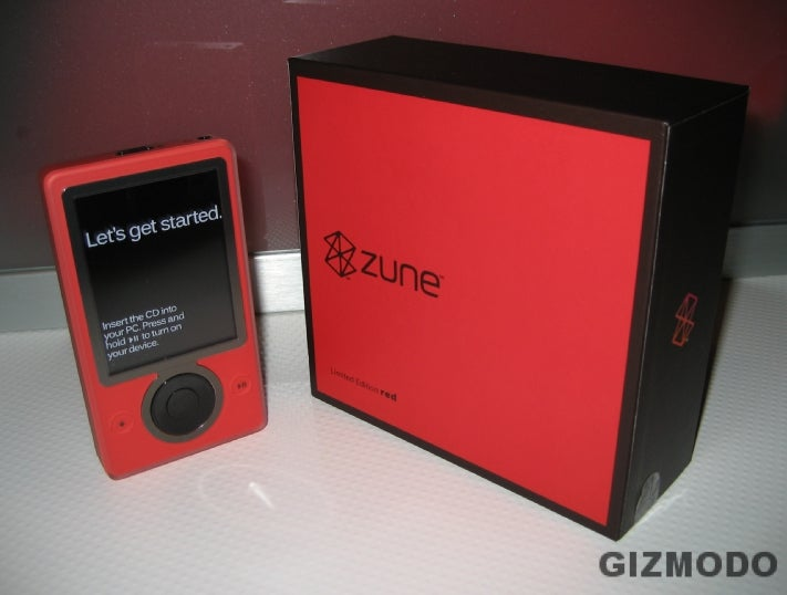Red Zune in the Wild (Again)