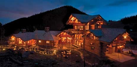 Extreme Hi-Tech Log Cabin Would Make Al Gore Cry (Gallery)
