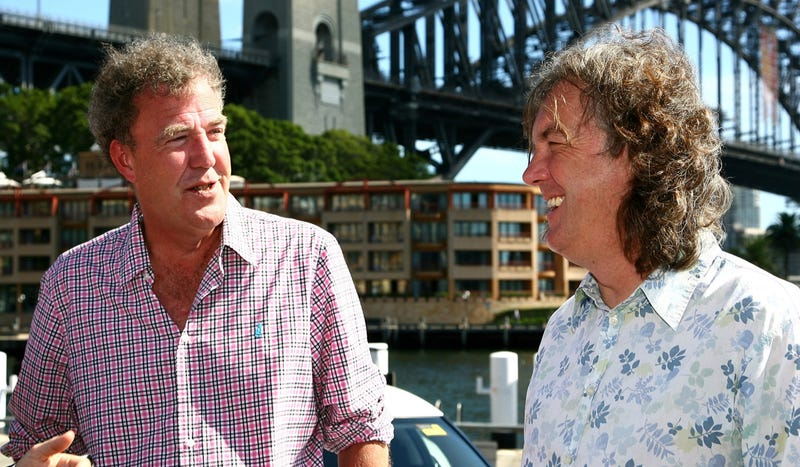 Jeremy Clarkson and James May Are Having A Race