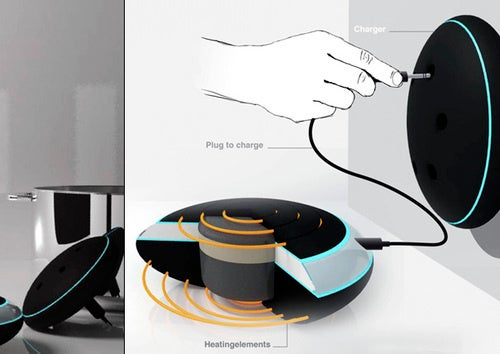 Stoov Portable Cooker Concept May Need Dolphins in Your Kitchen