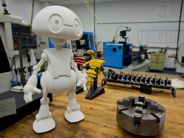 Intel Will Let You 3D-Print Your Own Robot This Year