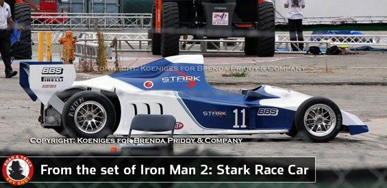 What's Does A Race Car Tell Us About Iron Man 2? And What's Lost's Next Weird Plot Device?