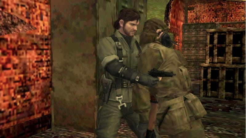Metal Gear Solid 3DS Isn't Winning Any Beauty Contests