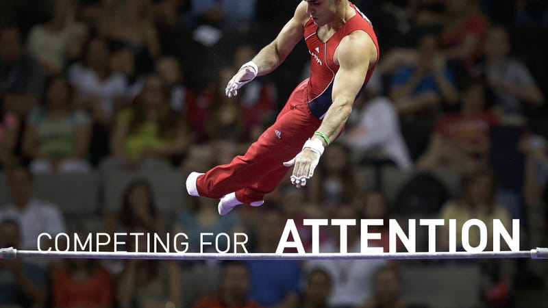 Men's Gymnastics: Fierce Competitors, Stuck In Second Place