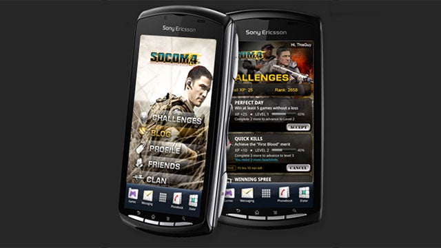 SOCOM Mobile HQ Challenges Players Via Android Phones