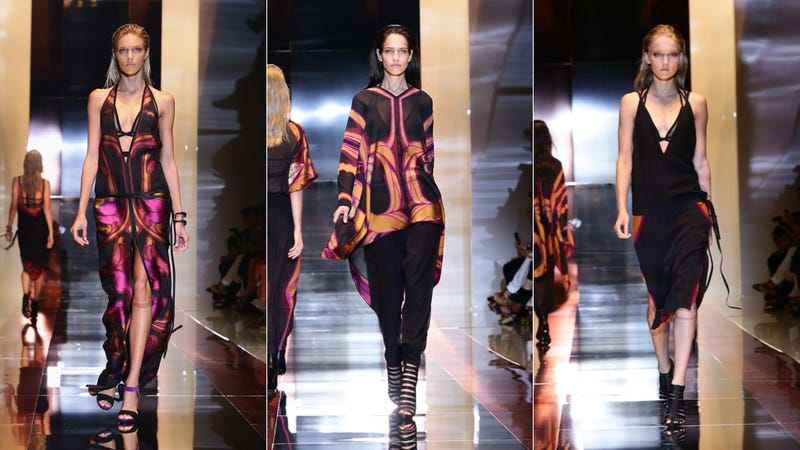 This Spring, Gucci Is Italian For Drapey and Hideous