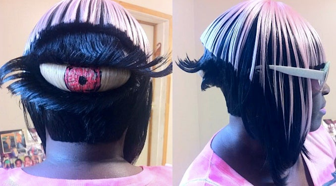 This insane cyclops haircut is very hard to look at