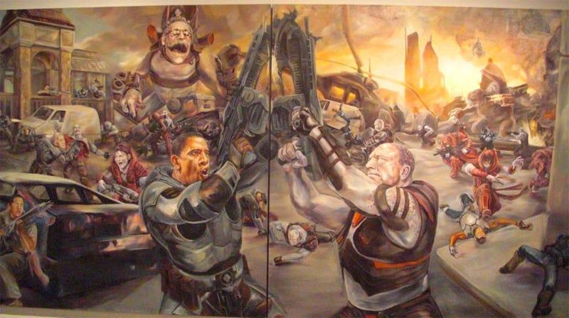 Gears Of War Gets Political