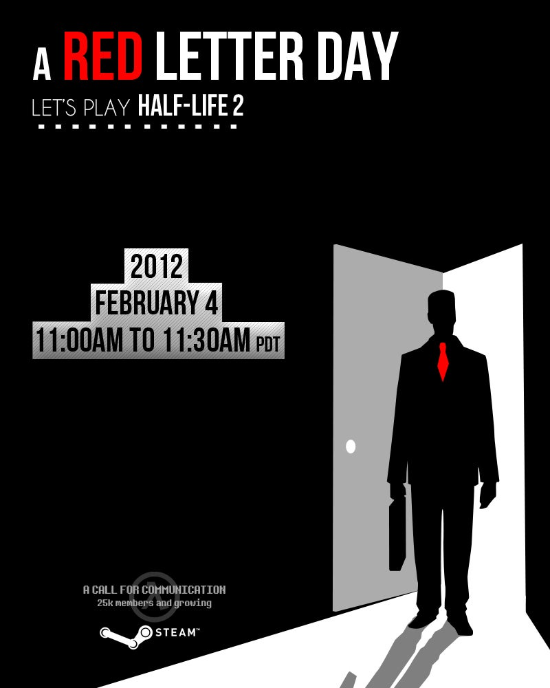 30,000 People are Going to Play Half-Life 2 as a Protest Against Half-Life 3