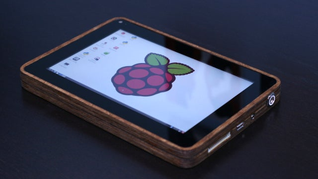 Build Your Own Raspberry Pi-Powered Tablet