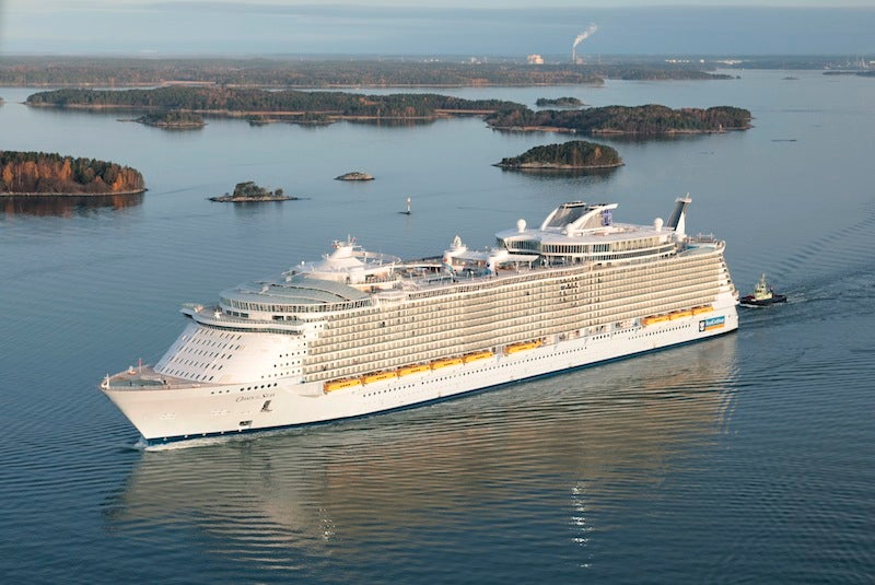 World's Largest Cruise Ship Sets Sail