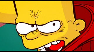 Bart Is Kaneda In The Perfect Akira/Simpsons Couch Gag