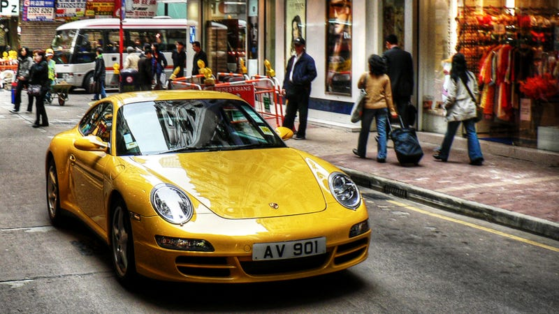 China Bans Military Plates On Porsches For 'Social Harmony'