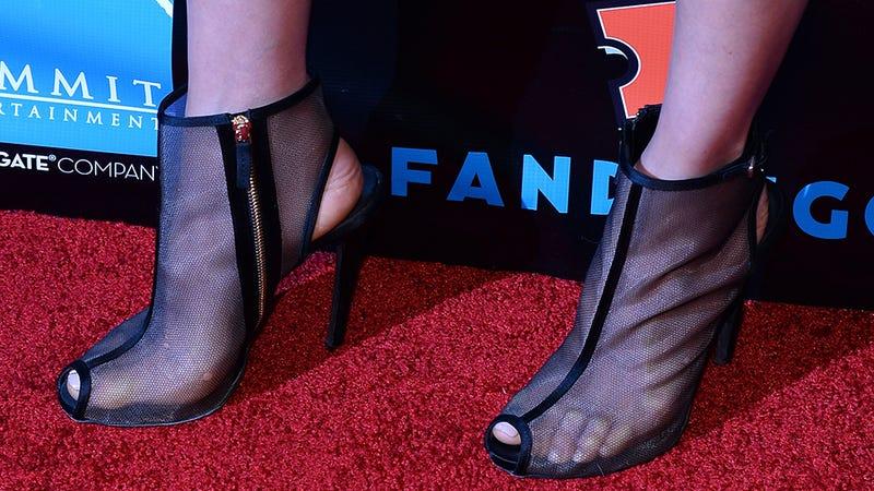 Let's Talk About Maggie Q's Shoes