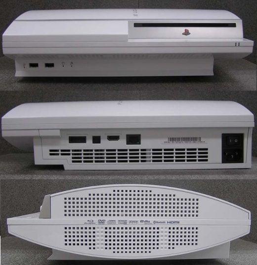 White PS3 Appears on FCC Site, Is Definitely Coming to America